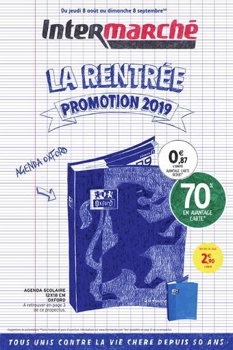 Intermarché Drive catalogue publicitaire (valable jusqu'au 08-09)