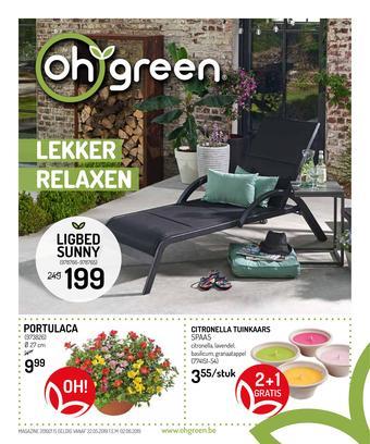 Oh Green reclame folder (geldig t/m 02-06)