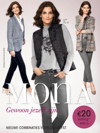 Mona Mode reclame folder (geldig t/m 30-09)