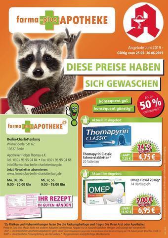 farma-plus Apotheken Prospekt (bis einschl. 31-08)