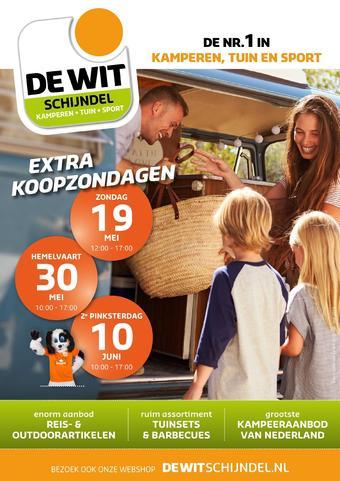 De Wit Schijndel reclame folder (geldig t/m 31-07)