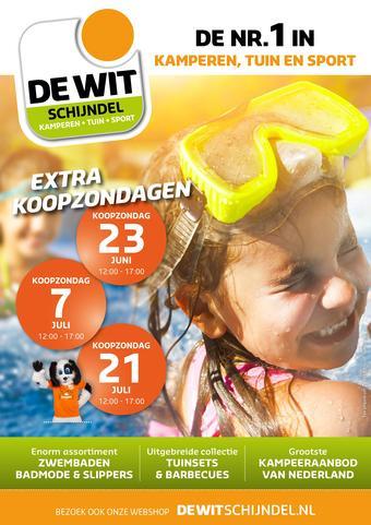 De Wit Schijndel reclame folder (geldig t/m 22-07)