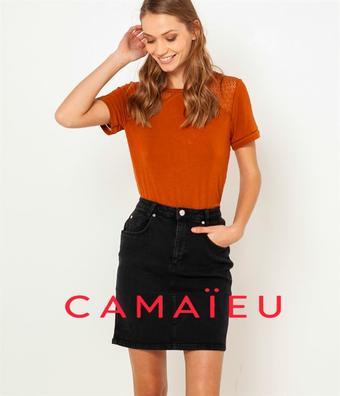 Camaieu reclame folder (geldig t/m 23-09)
