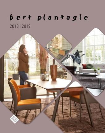 Bert Plantagie reclame folder (geldig t/m 31-01)