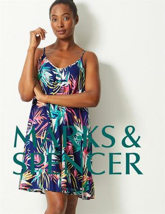 Marks & Spencer reclame folder (geldig t/m 03-06)