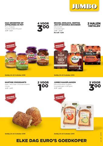 Jumbo Foodmarkt reclame folder (geldig t/m 24-09)