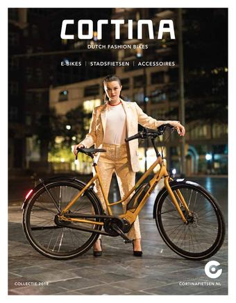 Cortina Fietsen reclame folder (geldig t/m 30-09)