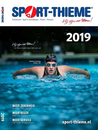 Sport Thieme reclame folder (geldig t/m 30-09)