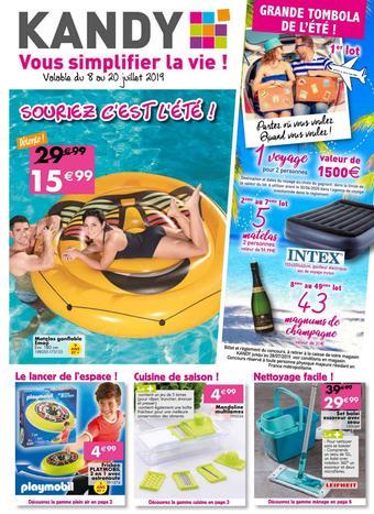 Kandy catalogue publicitaire (valable jusqu'au 20-07)