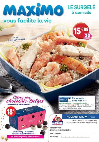 Maximo catalogue publicitaire (valable jusqu'au 30-06)
