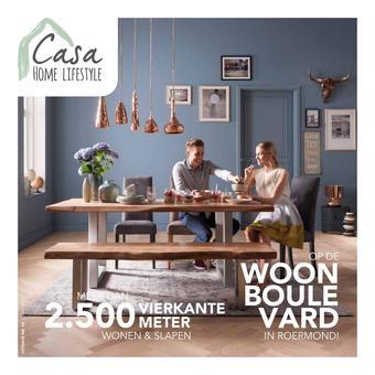 Casa Home Lifestyle reclame folder (geldig t/m 31-10)