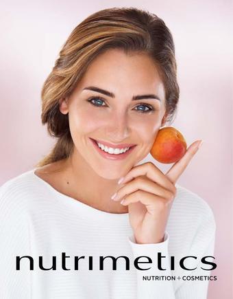 Nutrimetics catalogue publicitaire (valable jusqu'au 31-08)