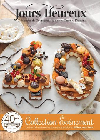 Jours Heureux catalogue publicitaire (valable jusqu'au 31-08)