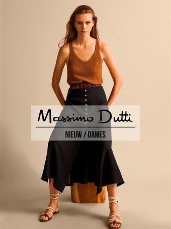 Massimo Dutti reclame folder (geldig t/m 05-08)
