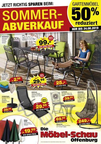 Möbel-Schau Prospekt (bis einschl. 24-08)