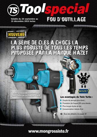 Toolspecial catalogue publicitaire (valable jusqu'au 19-12)