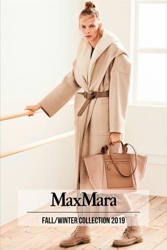 MaxMara reclame folder (geldig t/m 17-07)