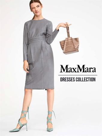 MaxMara reclame folder (geldig t/m 22-05)