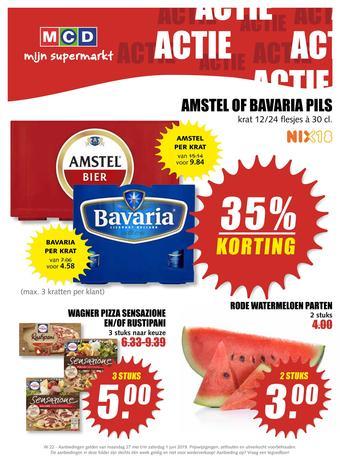 MCD Supermarkt reclame folder (geldig t/m 01-06)