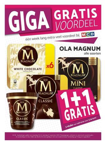MCD Supermarkt reclame folder (geldig t/m 21-09)