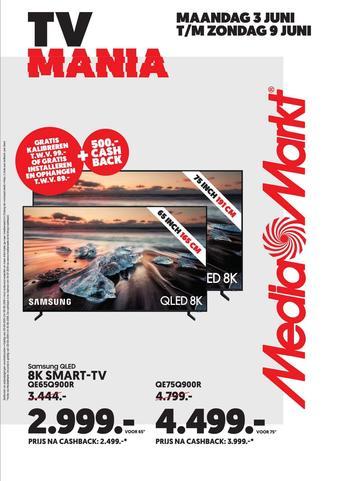 Media Markt reclame folder (geldig t/m 21-07)