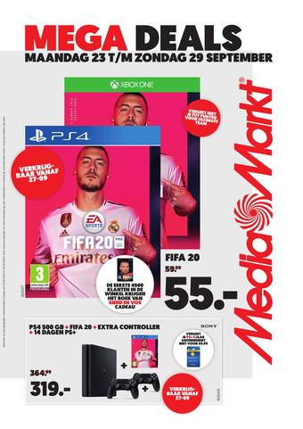 MediaMarkt reclame folder (geldig t/m 29-09)