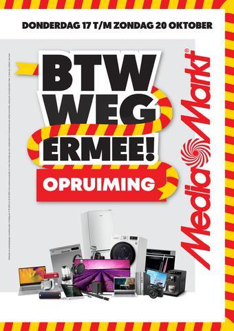 MediaMarkt reclame folder (geldig t/m 20-10)