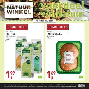 Natuurwinkel reclame folder (geldig t/m 23-07)