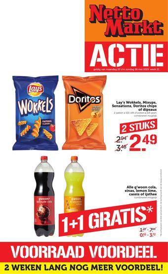 Nettomarkt reclame folder (geldig t/m 26-05)