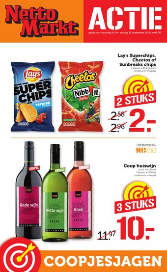 Nettomarkt reclame folder (geldig t/m 22-09)