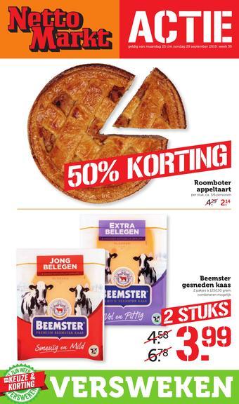Nettomarkt reclame folder (geldig t/m 29-09)