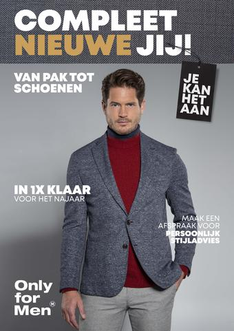Only for Men reclame folder (geldig t/m 27-10)