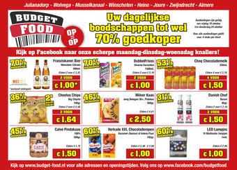 Budget Food reclame folder (geldig t/m 24-10)