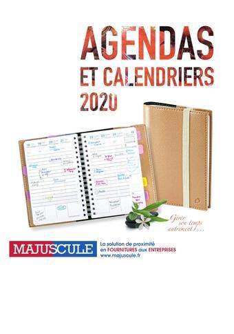 Majuscule catalogue publicitaire (valable jusqu'au 31-12)