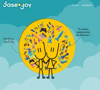 Jase & Joy reclame folder (geldig t/m 31-10)