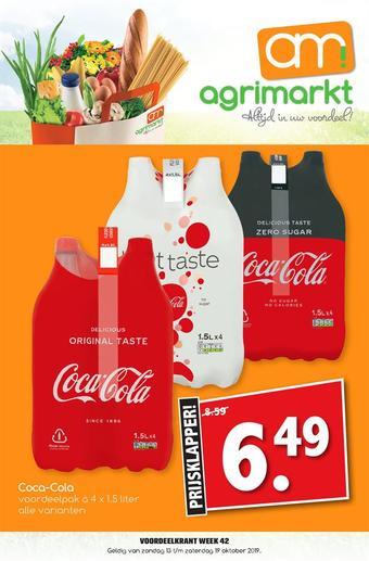 Agrimarkt reclame folder (geldig t/m 19-10)