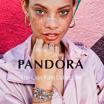 Pandora reclame folder (geldig t/m 31-08)