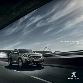 Peugeot reclame folder (geldig t/m 30-04)