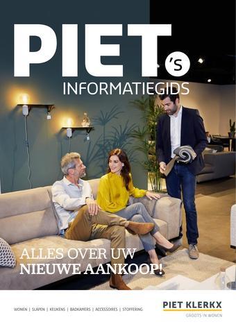 Piet Klerkx reclame folder (geldig t/m 31-12)