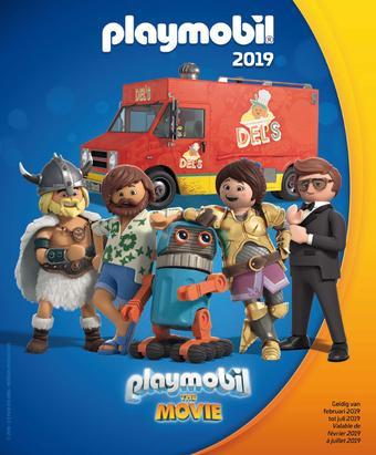 Playmobil reclame folder (geldig t/m 31-07)