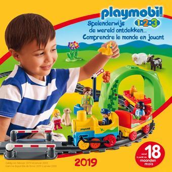 Playmobil reclame folder (geldig t/m 31-01)