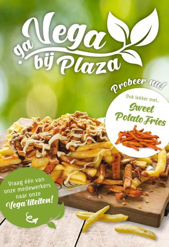 Plaza Food For All reclame folder (geldig t/m 31-10)