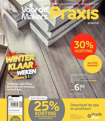 Praxis reclame folder (geldig t/m 27-10)