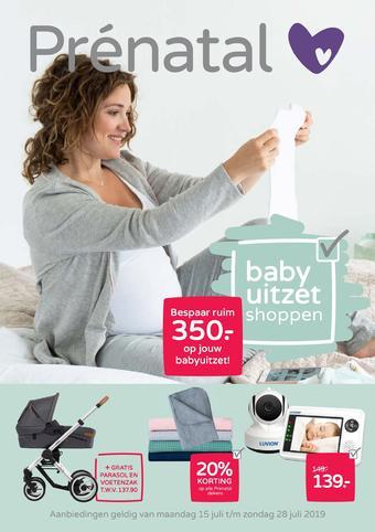 Prenatal reclame folder (geldig t/m 28-07)