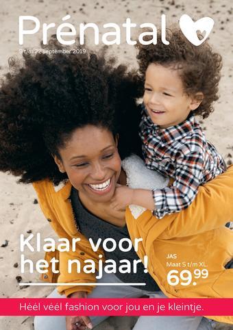 Prenatal reclame folder (geldig t/m 22-09)