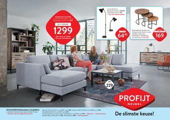 Profijt Meubel reclame folder (geldig t/m 27-10)