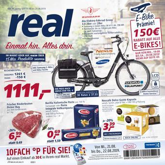 real,- reclame folder (geldig t/m 24-08)