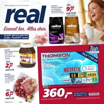real reclame folder (geldig t/m 19-10)