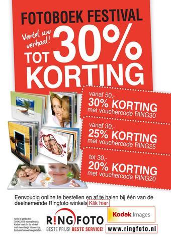Ringfoto reclame folder (geldig t/m 29-06)