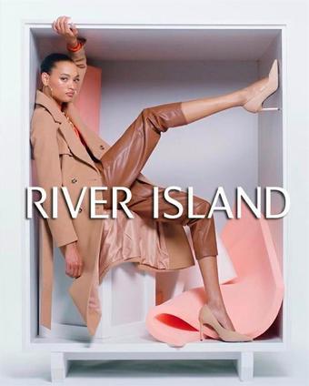 River Island reclame folder (geldig t/m 18-11)